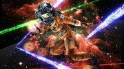 スターラスターガール 南条光、宇宙服でヒーロー気分