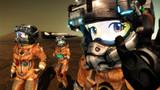 スターラスターガール 火星不時着実習中の3人