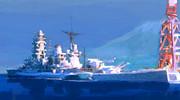 戦艦「長門」ー停泊ー