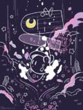カービィは月の扉を通って夢の中へ