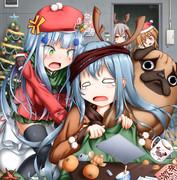 ドルフロでクリスマス絵