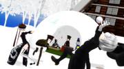 【第六回いよいよCyalon杯】雪合戦