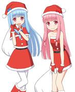 クリスマス琴葉姉妹