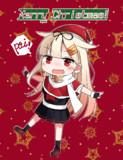 SD夕立クリスマスカード風
