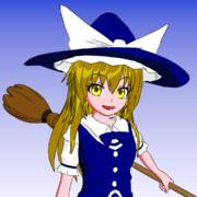 【Blender】魔理沙