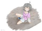 こけたぁ~(泣)