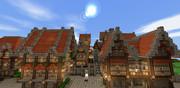 【Minecraft】MCPEで西洋の街造り1