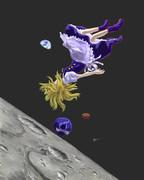 宇宙を飛ぶ不思議な魔法使い