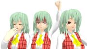【MMDモデル配布あり】MMDと化したMCT姉貴