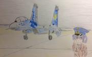 Су-27 и Сае