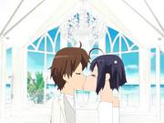 六花と勇太  結婚式