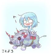 新年猪小傘ちゃん