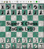 【Super X Chess】ZoG-AI vs CPU-Lv10【対局】