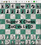 【Super X Chess】ZoG-AI vs CPU-Lv10【対局】