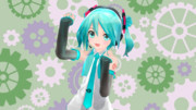 あぴミク01(EX版のデフォ服っぽい感じ)