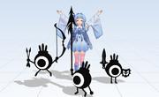 【支援MMD】アオイサマー!