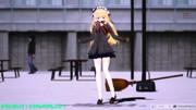 【MMD】冬制服まりちゃんがぴょんぴょん踊る動画【JK魔理沙】