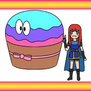 カップケーキと少女2