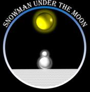 SNOWMAN UNDER THE MOON