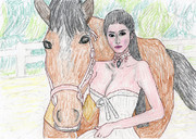 馬と艾尚真 (あいしょうしん)