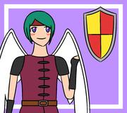 盾と天使勇者