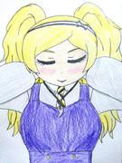薫衣草(ラベンダー)翡翠の勾玉