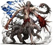 フォロワーの好きな要素を詰め込んだ創作獣を描くやつ その4