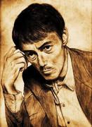 阿部寛さんを描いたつもりが、知らないオッサンとすり替わってた。