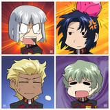 アニメ【日常】っぽいクルーゼ隊
