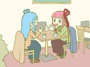 茶をしばく琴葉姉妹