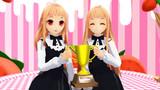 【MMD】レア様姉妹、2525再生おめでとう!