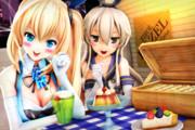 【アカしまタイム!】プリン食べよっ♪