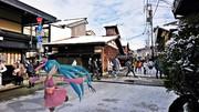 【ミクさんと】高山の古い町並み【岐阜県】