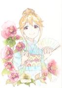 朋花ちゃんと椿