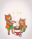 【もどき】イシシとノシシ