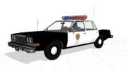 mmd自動車 ラクーンシティ警察パトカー