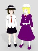 幻想メテオ最終話。蓮子とメリー。