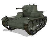 【MMD陸軍】 ポーランド戦車 7TP