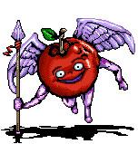 センター試験の羽付きリンゴ