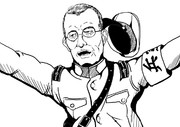 過激派青年将校を宥めようとする昭和十一年の閉廷おじさん