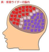 真・仮面ライダーの脳内