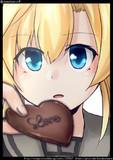 阿武隈:リプきたキャラの顔だけ描く