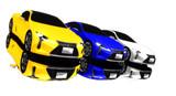 【MMD】LEXUS LC500のカラー変更キット配布
