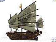 [MMD] Sailing_ship ~帆船~ PMXモデル配布します[MMM]