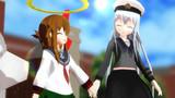 【MMD艦これ】ゲームセンター泊地にゼナちゃんがゲストに来てくれました【ゼナちゃんの鎮守府巡り】