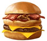 チーズがダブルのハンバーガー