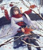 冬に残る秋
