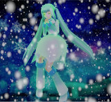 冬の精霊、降臨。<ささかや式 氷霜の華ミク>