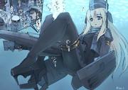 U-96はU-511に挟まれてしまった!