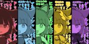 【ぷよぷよ】アルル五色詰め合わせ